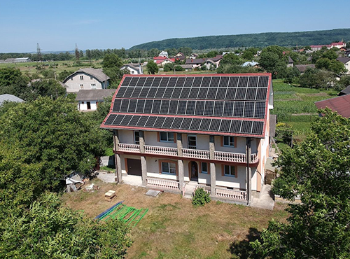 Ukraine, 30kWp reference with Canadian Solar 310W mono