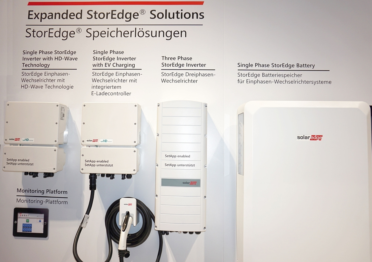 SolarEdge+new+Residential+inverters and battery system