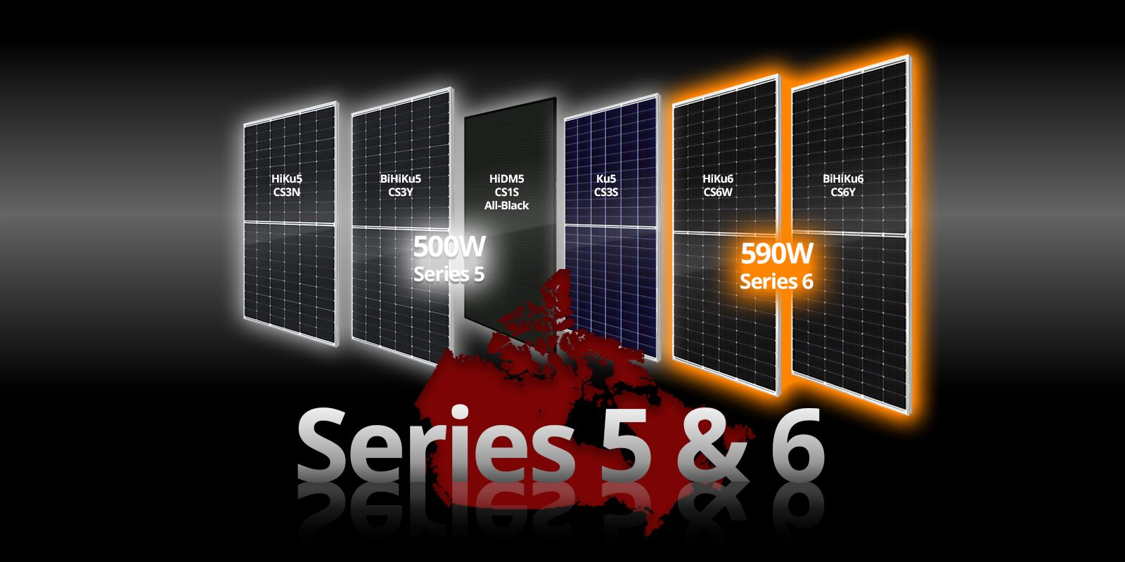 Canadian High Power modules series