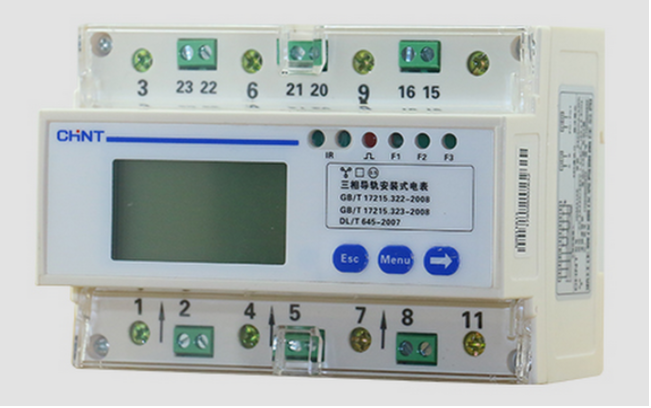 Three-phase meter DTSU666-D